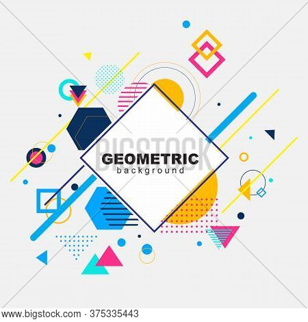 Abstract Geometric Pattern Design And Background. Use For Modern Design, Cover, Template, Decorated,