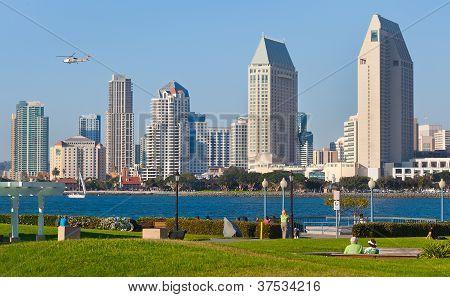 Downtown San Diego, California Cityscape