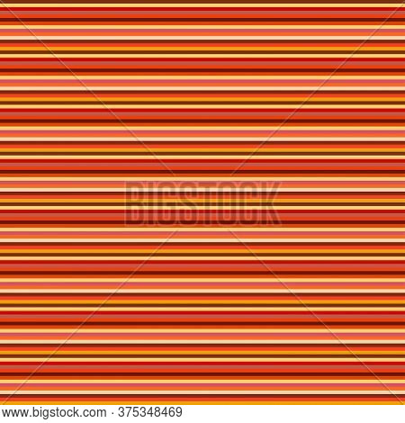 Sandstone Inspired Colorful Horizontal Stripes Pattern. Vector Seamless Pattern Design For Textile,
