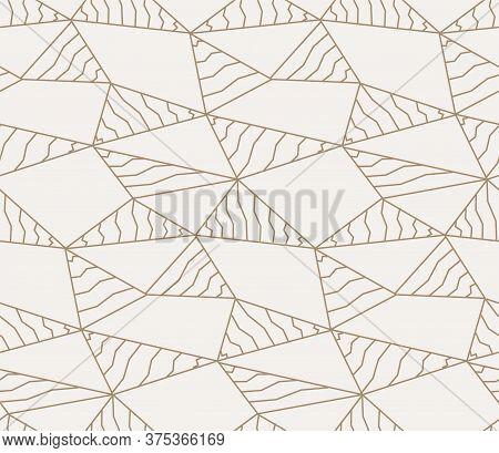 Seamless Ramadan Graphic Web Pattern Pattern. Repetitive Fashion Vector, Diagonal Decor Texture. Con