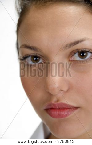 Close Up Of Medical Professional\\\'S Face