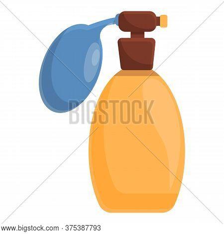 Groomer Perfume Bottle Icon. Cartoon Of Groomer Perfume Bottle Vector Icon For Web Design Isolated O