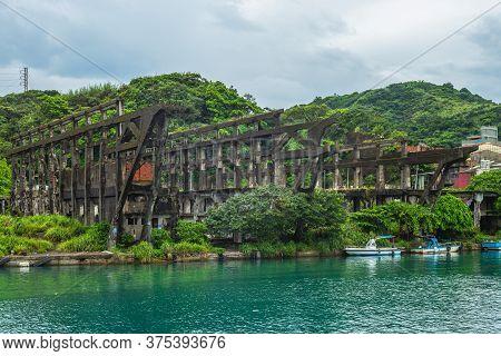 Shipyard Ruin At Keelung, Taiwan
