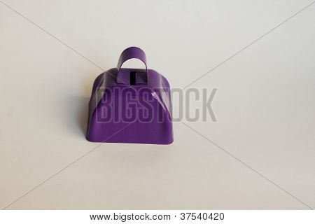 Purple Cowbell