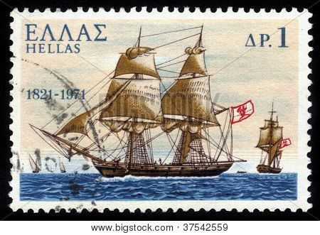 Pericles ; Warship From Spetses Island Greece