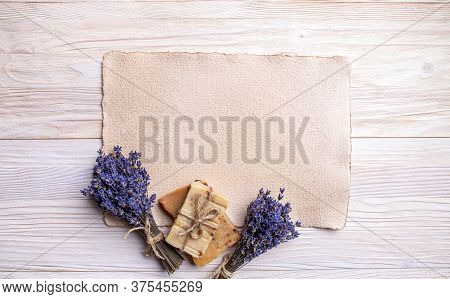Spa Lavender Concept With Space For Your Text