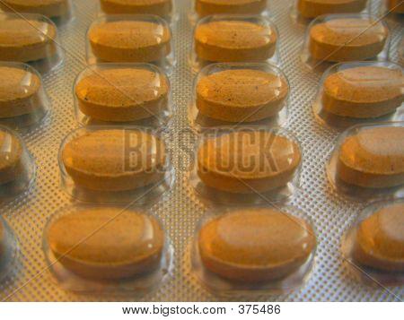 Brown Pills 3
