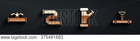 Set Industry Pipe And Valve, Industry Metallic Pipe, Industry Metallic Pipe And Industry Pipe And Va