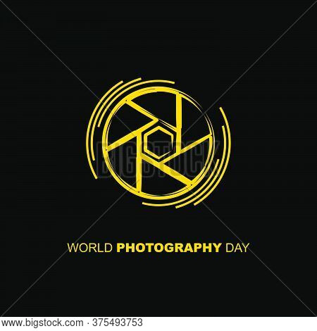 Line Art Of Capture Icon. Vector Illustration For World Photography Day Design. Also Good Template F