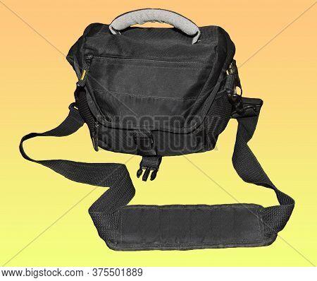 Black Camera Bag For Keeping Dslr And Other Accessories