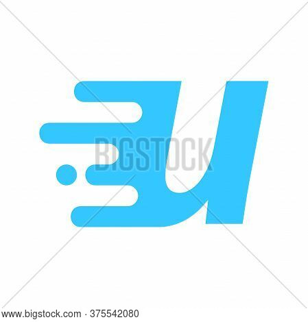 Modern And Minimalist Logo Design Motion Font U