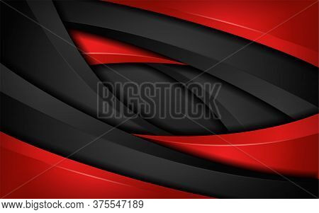 Modern Dark And Colorful Red Abstract Sharp Vector Background Images.