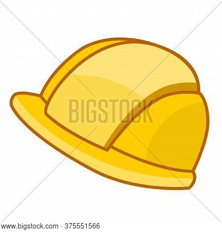 Safety Hat Isolated Illustration On White Background