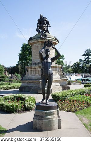 Prince Hal At The William Shakespeare Memorial At Bancroft Gardens In Stratford Upon Avon In Warwick