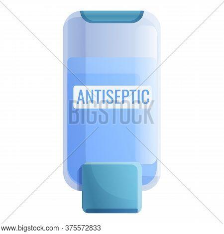 Antiseptic Wc Dispenser Icon. Cartoon Of Antiseptic Wc Dispenser Vector Icon For Web Design Isolated