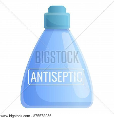 Clean Antiseptic Icon. Cartoon Of Clean Antiseptic Vector Icon For Web Design Isolated On White Back