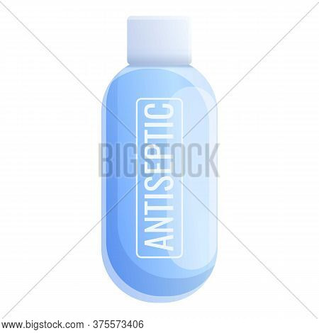 Virus Antiseptic Icon. Cartoon Of Virus Antiseptic Vector Icon For Web Design Isolated On White Back