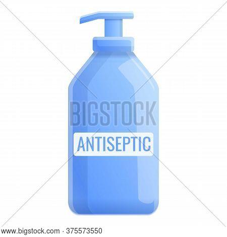 Dispenser Gel Antiseptic Icon. Cartoon Of Dispenser Gel Antiseptic Vector Icon For Web Design Isolat