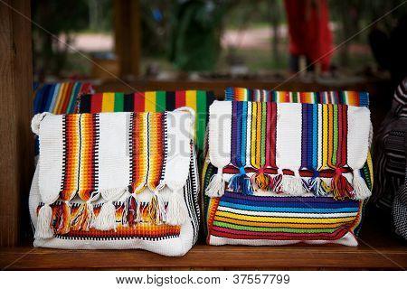 Colorful Guarani Bags