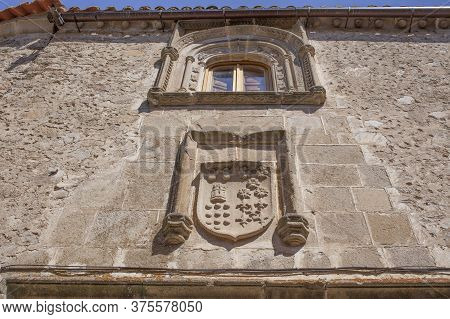 Alvarados House, 15th Century Building. Trujillo, Extremadura, Spain