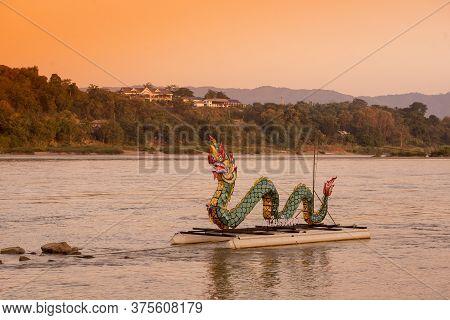 Thailand Chiang Khong Mekong Naga Dragon