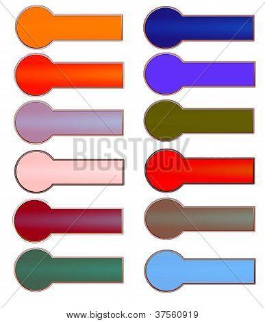 banner or  labels for design website or Advertising
