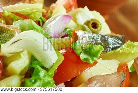 Palermo Smoked Trout Sicilian Salad