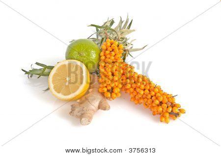 Sea-Buckthorn,Lemons And Ginger.