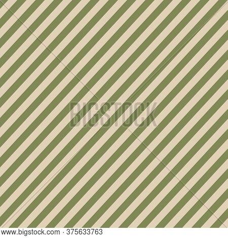 Green Striped Christmas Wallpaper