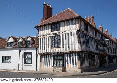 The Hotel Indigo On Scholars Lane In Stratford Upon Avon In Warwickshire In The Uk, Taken On 22nd Ju