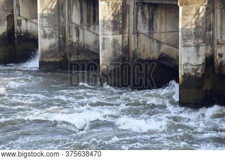 Hydro Power Electric Dam In Thailand