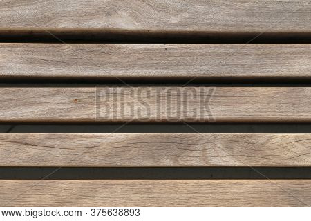 A Thick Wood Plank Stack Wall Fence Background
