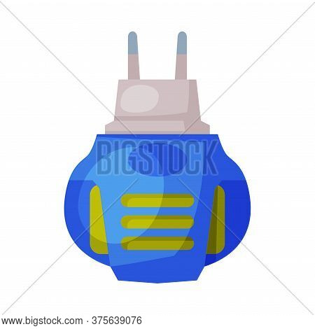 Electric Fumigator, Pest Control And Extermination Concept Vector Illustration On White Background