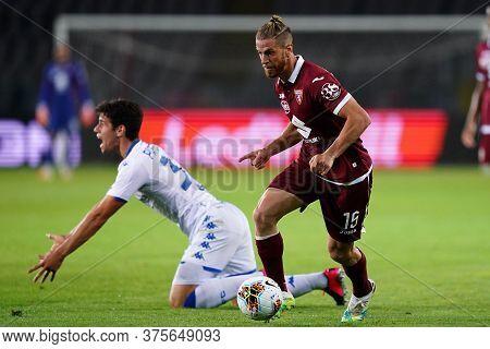 Torino (italy) , 08th July 2020. Italian Serie A. Cristian Ansaldi  Of Torino Fc    During The Serie