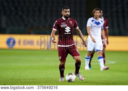 Torino (italy) , 08th July 2020. Italian Serie A. Tomas Rincon  Of Torino Fc    During The Serie A M