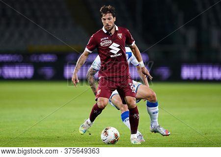 Torino (italy) , 08th July 2020. Italian Serie A. Simone Verdi Of Torino Fc    During The Serie A Ma