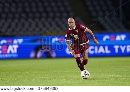 Torino (italy) , 08th July 2020. Italian Serie A. Simone Zaza Of Torino Fc    During The Serie A Mat