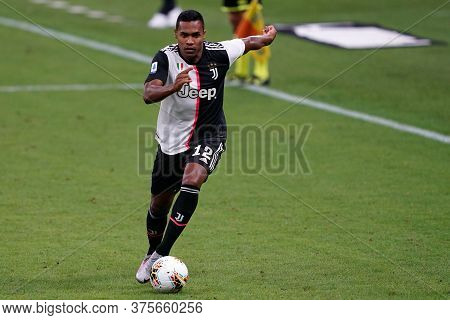 Milano (italy) - 07th July 2020. Italian Serie A.  Alex Sandro  Of Juventus Fc In Action During The