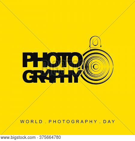World Photography Day With Lensbong (phone Extra Lens). Perfect Template For Photography Design.