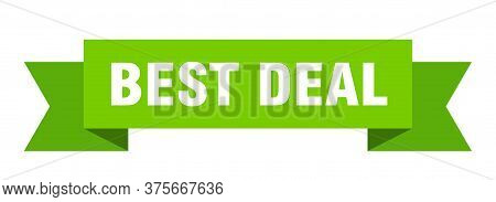 Best Deal Ribbon. Best Deal Isolated Band Sign. Best Deal Banner