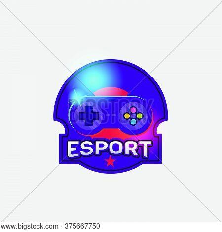 E Sport Logo Design Template For Competition Event And E Sport Team
