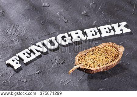 Organic Fenugreek Seeds - Trigonella Foenum - Graecum