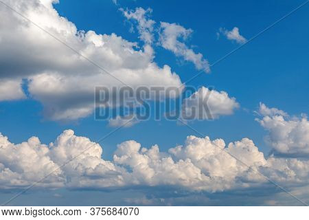 Beautiful Blue Sky And Clouds Natural Background