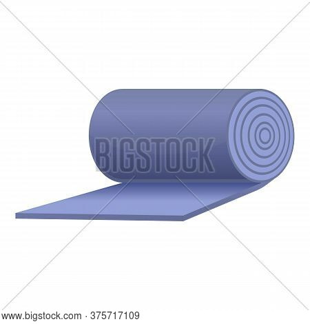 Soundproofing Mattress Icon. Cartoon Of Soundproofing Mattress Vector Icon For Web Design Isolated O