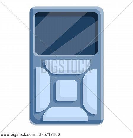 Digital Remote Control Icon. Cartoon Of Digital Remote Control Vector Icon For Web Design Isolated O