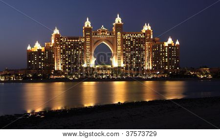 Atlantis The Palm Hotel in Dubai United Arab Emirates poster