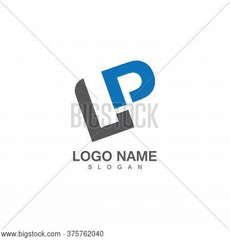 Lp Letter Logo Template Vector Illustration Design Icon