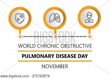 World Chronic Obstructive Pulmonary Disease Day Or Copd Is Celebrated On The Third Wednesday Of Nove