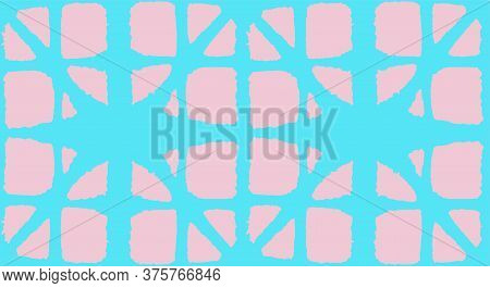 Japanese Tie Dye Seamless Pattern. Glamour Kimono Textile. Geo Shape Shell Texture Luxurious Japanes