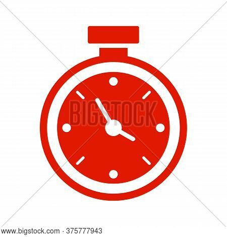 Save Time Glyph Icon Vector On White Background. Flat Vector Save Time Icon Symbol Sign From Modern